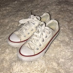 Girls Converse All Star White Size 12 Chuck Taylor